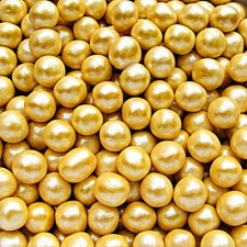Gold 6mm Pearls