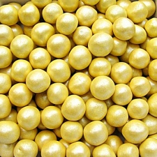 Pearlised Yellow 8mm Pearls