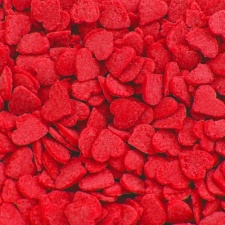 Red Confetti Hearts