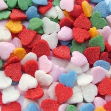 Rainbow Mini Hearts
