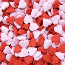 Red and Pink Mini Hearts