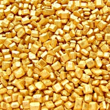 Gold Sparkling Sugar Crystals