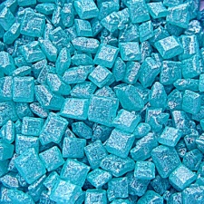Pearlised Blue Sugar Rocs